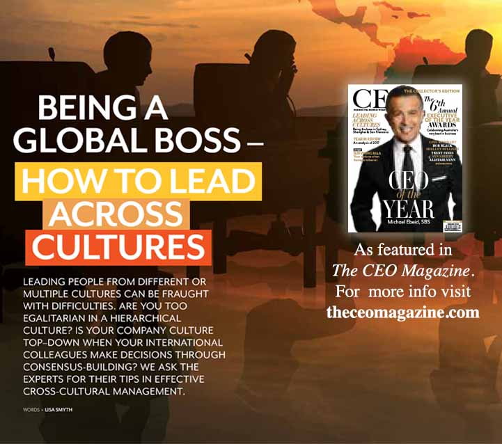Worldwide connect in CEO Magazine